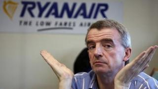 Ryanair boss Michael O'Leary.