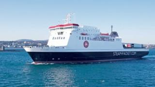 Steam Packet ship by IOM govt