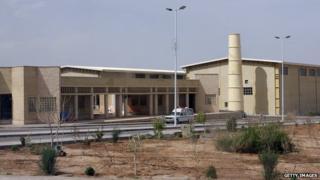 Natanz nuclear enrichment facility on 9 April 2007