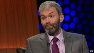 John Wilson on the Late Late Show