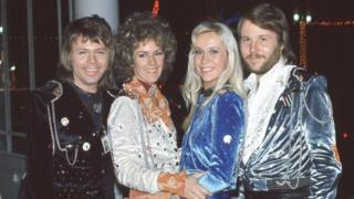 Abba after their win in Brighton