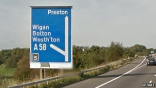 Junction 5 of the M61