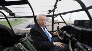 Squadron Leader Tony Iveson