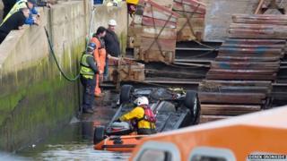 Peterhead harbour crash