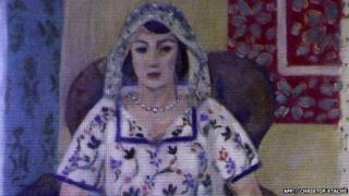 Matisse's Femme Assise
