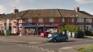 Sea Mills Post Office on Shirehampton Road