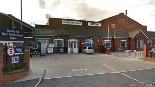 Neville Hill depot
