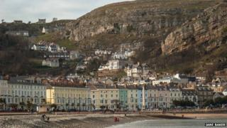 Llandudno and the Gt Orme (Photo: Jane Baker)