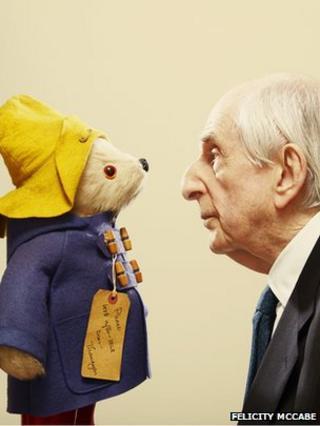 Paddington Bear and Michael Bond