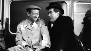 Sid James and Tony Hancock