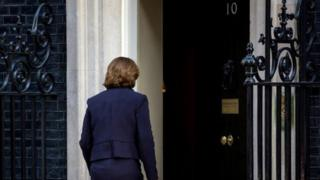 Maria Miller enters Downing Street on Tuesday