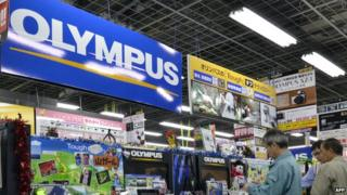 Olympus stall