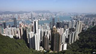Hong Kong skyline (file image)