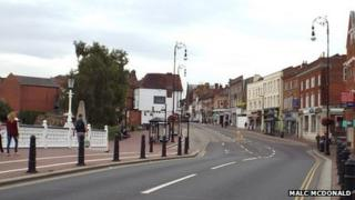Tonbridge town centre