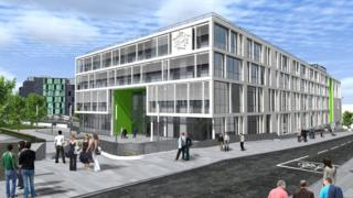 Boroughmuir High School (Artist's impression)