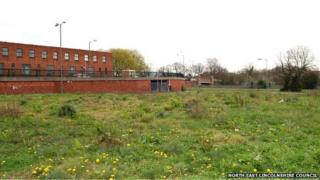 Brownfield site at Cartergate