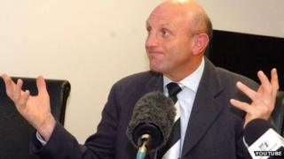 Corby Town chairman Kevin Ingram