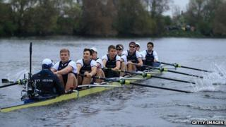 Oxford rowing team