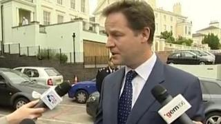 Nick Clegg generic image