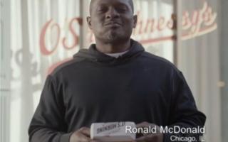Ronald McDonald eats Taco Bell