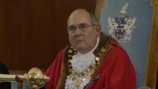 Mayor Nick Martin