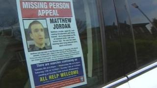 Matthew Jordan missing person poster