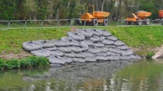 Repairs of the Lower Mole Flood Alleviation Scheme