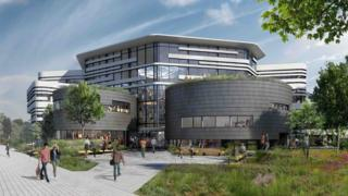 The design for the new £22m building