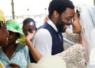 Chiwetel Ejiofor, Thandie Newton in Half of a Yellow Sun
