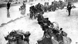British troops arrive in Normandy on D-Day