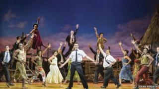 London cast of The Book of Mormon
