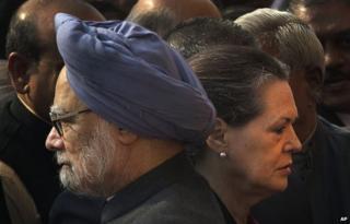 Manmohan Singh and Sonia Gandhi