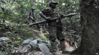 FDLR rebels (file photo)