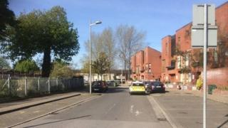 The shooting happened at Gateway Avenue in Ballymun