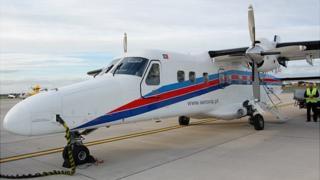 Dornier 228 being trialled by Aurigny