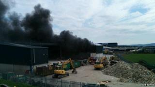Wester Gourdie fire