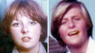 Christine Eadie and Helen Scott