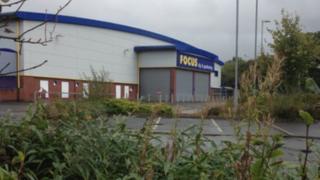 Former Focus store in Tavistock