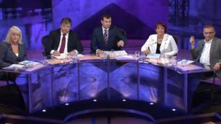 BBC debate panel
