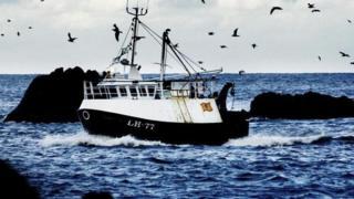 Scottish fishing boat