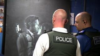 Row erupts over removed Banksy work in Bristol