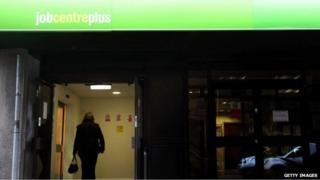 Job centre (file pic)