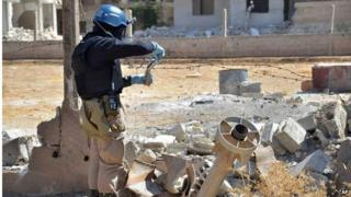 Syria chlorine gas attack alleged by activists