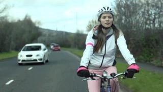 Cycle safety advert