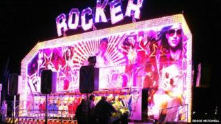Worthing fairground ride