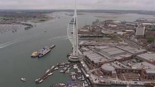 Portsmouth's Spinnaker Tower