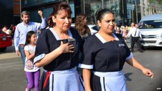 Mexico shaken by powerful earthquake