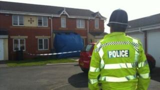 The teenage victim suffered 15% burns in the attack in MacDonald Close, Tividale