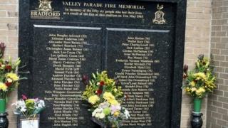 Bradford City fire memorial