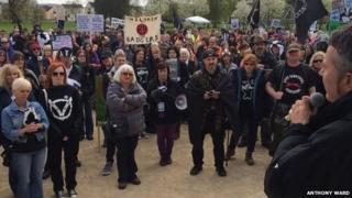 Anti-cull march